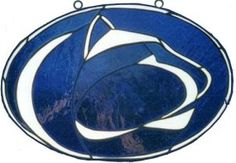 Penn State Nittany Lions Stained Glass Suncatcher