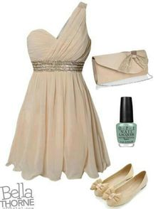 Evening Dress   Polyvore glamour featured Evening Gowns dresses, needs to have heels instead of flats!!