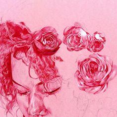 Ballpoint Pen Drawings by Chima Ezenwachi