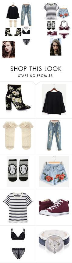 """Lunar moon outfits1"" by kierstyn-montgomery on Polyvore featuring Miss Selfridge, Monsoon, Studio Ghibli, Converse and Alexa K"