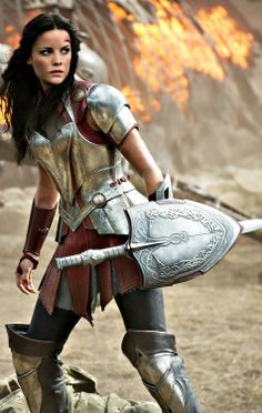 Very very happy with Sif in Thor the Dark World