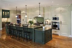Maybe add lighting over the bar after the upper cabinets are gone? Glass tile is nice too.