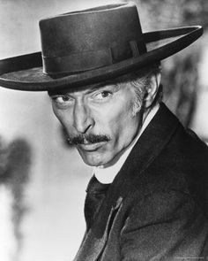 Lee Van Cleef. The bad or the ugly? Coward in Hollywood westerns? Hero in the spaghetti westerns.