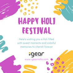 We wish you and your family all the bright hues of life. Have a colourful holi ! Visit www.igearindia.com #happyholi #eyewear #india #readingglasses #igeareyewear #igear #igearindia #holi