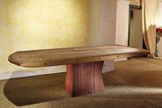 Diogenes Tisch aus einem Fassboden Design www.helmut-pramstaller.at