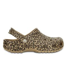 2158161b71 Look at this Crocs Gold Leopard Classic Clog - Women on  zulily today! Crocs