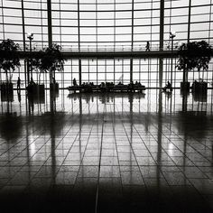 Homebound. #airport #Indianapolis #indy #indiana #airportlife #travel #airportlife #airports #bw #bnw #blackandwhite #blackandwhitephotography #silhouette #monochrome