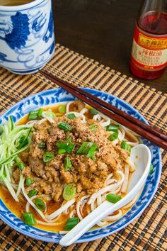 Dan Dan Mian - need to go to Hong Kong Market to get a few ingredients but sooo gonna make this!