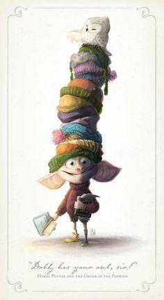 This Dobby fan art <3