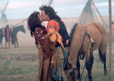 "Mary McDonnell & Kevin Costner - ""Dances With Wolves"" (1990)"
