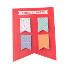 Mark notes, meetings and more with these super sweet Adhesive Notes.