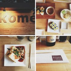Kome, a casual Japanese dive in Austin.  Thanks @lovelemonsfood for the recommend.  Austin (or thereabouts) soon-ish!