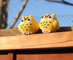 whit whooo.... Owls! Owls! Eule! Uhu! :-)