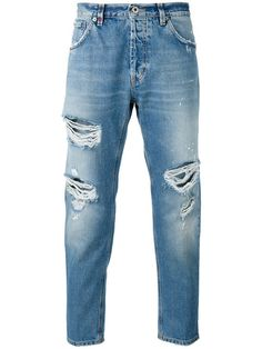 DONDUP Distressed Jeans. #dondup #cloth #jeans