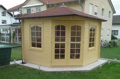 Kundenbild: 5-Eck Gartenhaus Modell Victoria B 40