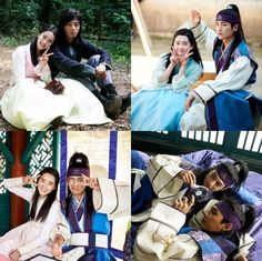 """Cast Of """"Hwarang"""" Show Adorable Chemistry In Behind-The-Scenes Photos 