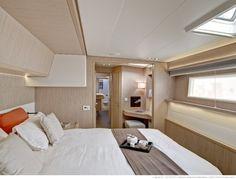 Lagoon 55 Master suite