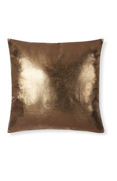 6€ Primark - Cojín brillante color cobre