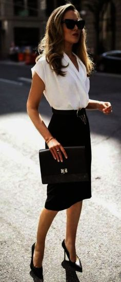 40 Trendy Work Attire & Office Outfits For Business Women Classy Workwear for Professional Look - Business Outfits for Work Cute Work Outfits, Office Outfits Women, Summer Work Outfits, Mode Outfits, Classy Outfits, Woman Outfits, Office Dresses, Stylish Outfits, Fall Outfits