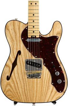 Fender American Elite Telecaster Thinline - Natural - $ 64.030,00 en Mercado…