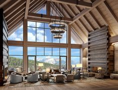 There's a wilderness retreat—and then there's being situated at the heart of a 3,500-acre Spanish Peaks enclave. Inspired by its natural setting (and what a setting it is), the Montage Big Sky is all about giving you everything you need—along with space, facilities, and time to enjoy it. The property is ski-in, ski-out. In the spring and summer, guests can enjoy the property's golf course, as well as the area's supreme fly-fishing. Lobby Lounge, Sell Property, Federal Agencies, Entrance Ways, Big Sky, Sales And Marketing, Hotels And Resorts, Hearth, Great Rooms