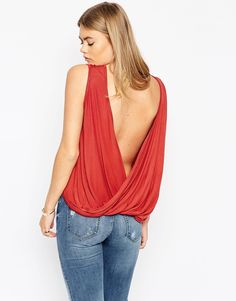 ASOS+Top+With+Twist+Back