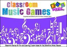 Substitute Lesson Ideas - Classroom Music Games
