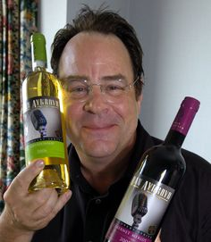 Dan Aykroyd #vinopio #wijn www.vinopio.be