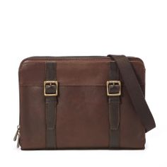 Fossil Messenger Bag. Need this.