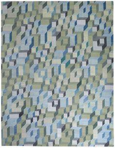 Maze KELLY WEARSTLER Designer Collection Wool Rugs Nepalese Rug150 knot, Tibetan WoolPrice band 07