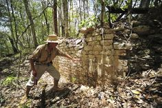 So cool! Recently found remains of a building at the newly discovered ancient Maya city Chactun in Yucatan peninsula
