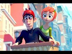 El encantador corto muestra qué pasaría cuando dos personas, una más afortunada que la otra, se encuentran por casualidad.