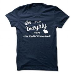 I love it BEEGHLY Tshirt blood runs though my veins