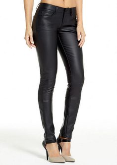 Jalate Five Pocket Pleather Skinny - Whats New - Alloy Apparel. SO fun. I have shoes almost exactly like these.