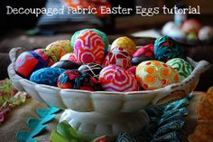 Easter Craft: what to do with those plastic eggs -- Tatertots and Jello