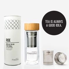 Fressko RISE Flask includes a Infuser. The perfect companion for creating your favorite fruit-water, tea, coffee; all while you BREW AS YOU GO. Water Bottle Gift, Infused Water Bottle, Glass Drinking Bottles, Drink Bottles, Fruit Infuser Bottle, Glass Flask, Reusable Coffee Cup, Fruit Water, No Plastic