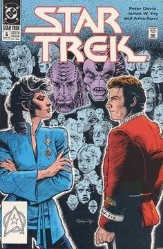 EUC Star Trek DC Comic Book 6 Mar 1990 vintage collectible Comic book has been in sleeve since purchase. Star Trek Meme, Star Trek 1966, Star Trek Tv, New Star Trek, Star Wars, Star Trek Books, Star Trek Movies, Dc Comic Books, Comic Book Covers