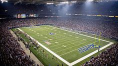 Edward Jones Dome, St. Louis, MO. Rams