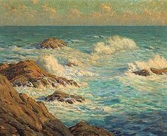 Granville Redmond Gallery Paintings and Art Examples and Signatures