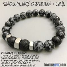 Snowflake Obsidian brings about a balance to body, mind and spirit. Snowflake Obsidian helps to keep centered and focused when any type of chaotic situation presents itself. Snowflake Obsidian can remove negativity from a space or person with ease.......Y