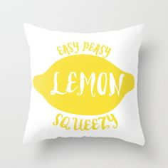 easy peasy lemon squeezy yellow cute funny quote