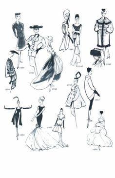 Designs by Cristobal Balenciaga