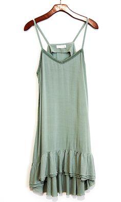 Paradise Found Perfect Drape Midi Dress - Conversation Pieces