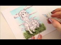 ▶ Kit and Clowder - Copic Tutorial - Grass - YouTube