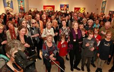Hommage aan Herman Brood - Vele genodigden waren aanwezig voor de opening van de expositie
