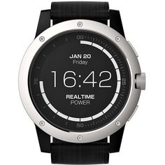 Best Smartwatch Powered by You - MATRIX PowerWatch World's First Smartwatch You Never Have to Charge Only $129.00