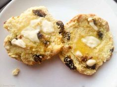 Date Scones from New Zealand are best straight out of the oven smothered in butter, which melts into the scones.