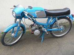 peugeot bb 3 Peugeot, 50cc, Custom Bikes, Bobber, Vehicles, Motorcycles, German, Fantasy, Board