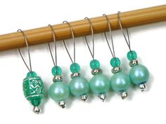 Knitting Stitch Markers Set Snag Free DIY Knitting by TJBdesigns, $7.50