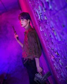 """BTS Kim Seokjin/ Jin shows kdrama people what they are missing out on by self auditioning for a zombie apocalypse movie. melarosee for the text removal from first picture"" Seokjin, Namjoon, Taehyung, Jimin, Bts Jin, Jin Kim, Bts Bangtan Boy, Foto Bts, Bts Photo"